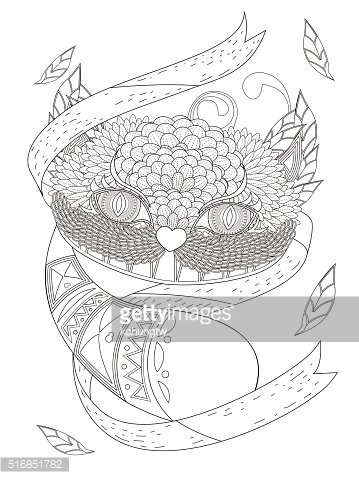 smile cat coloring page