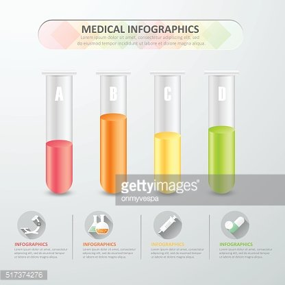 Design Medical infographics with icon set, vector illustration