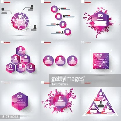 Colored cloud computing background with web icons. Social network. Mobile