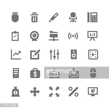 Business and Office Vector Icons 5