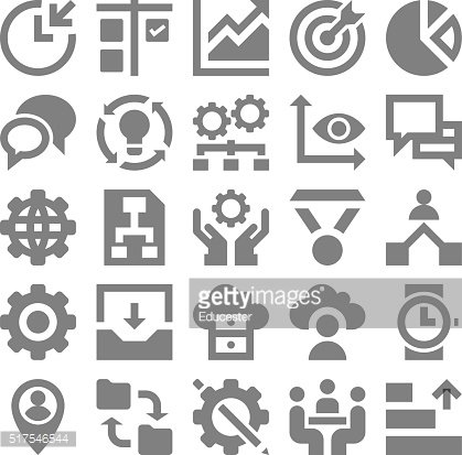 Project Management Vector Icons 2
