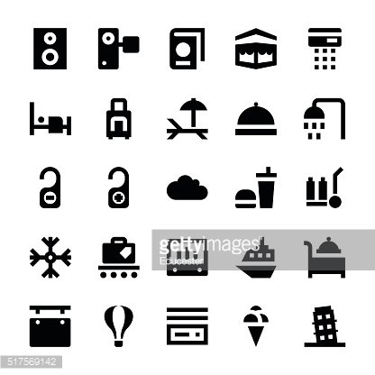 Tourism and Travel Vector Icons 2