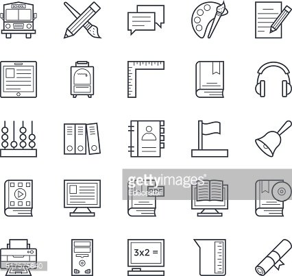 Education Vector Icons 3