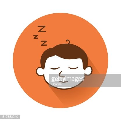 sleeping head symbol