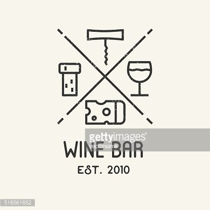 Label for wine, winery or store.