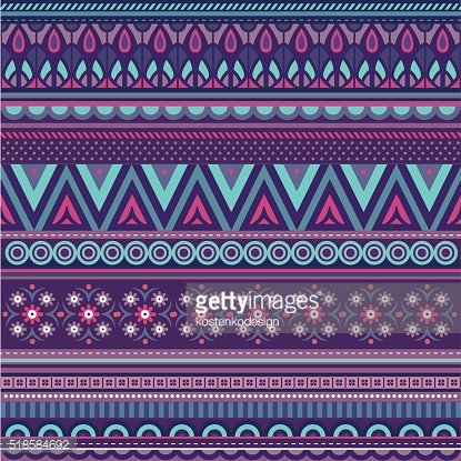 Vector ethnic strips background