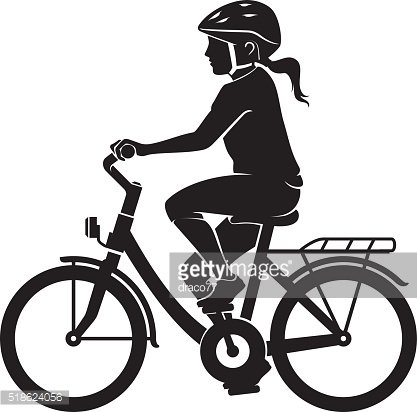 Young Female Cyclist