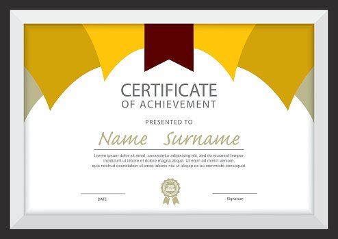Certificate Template,diploma Layout  Certificate Layout
