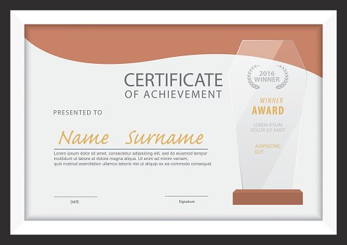 Certificate templatediploma layouta4 size vector premium clipart certificate templatediploma layouta4 size vector yelopaper Images