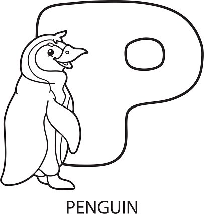 Animal Alphabet Coloring Page