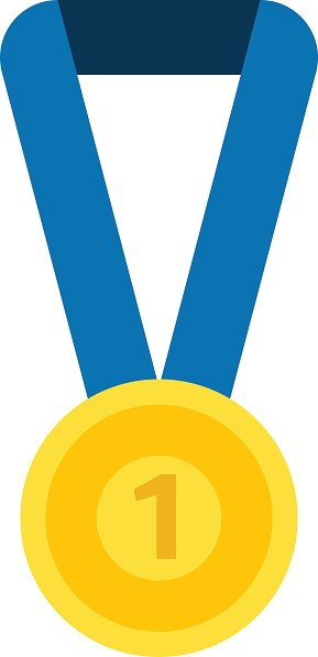 Medal Isolated Vector Illustration premium clipart