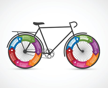 Fitness and sports design element infographics.
