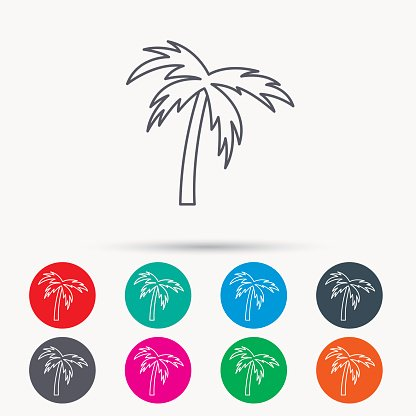 Palm Tree Travel Or Vacation Premium Clipart Clipartlogo