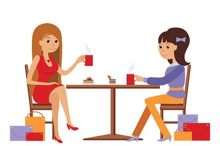 Cafe Ladies Stock Illustrations – 268 Cafe Ladies Stock Illustrations,  Vectors & Clipart - Dreamstime