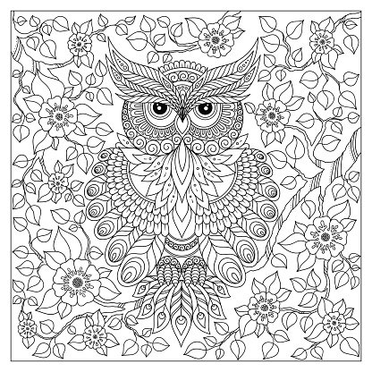 Coloring Book For Adult And Older Premium Clipart Clipartlogocom