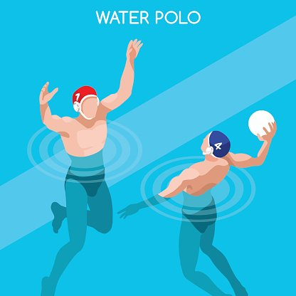Athletics Swimming Water Polo Players Athlete Sporting Championship International Competition