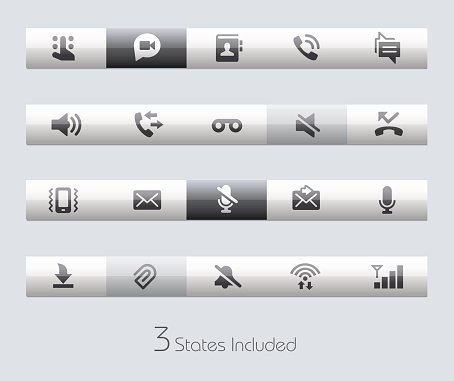 Web & Mobile Icons 1 - Classic Series