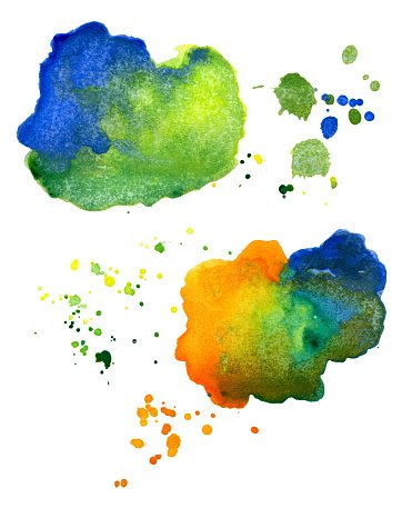 Water color abstract