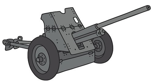 Old gray cannon