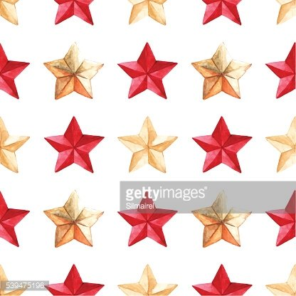 Star medal military vector seamless pattern texture background