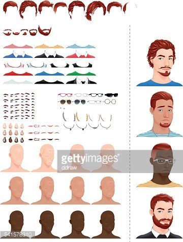 Male avatars