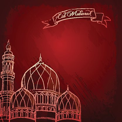 mosque sketch islamic background eid mubarak clipart image mosque sketch islamic background eid