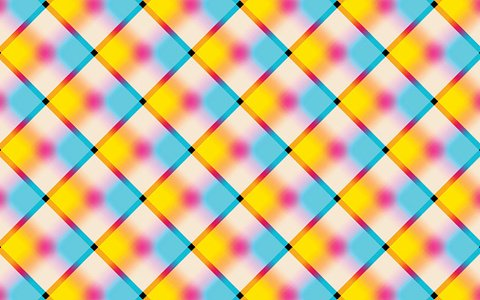 Abstract vibrant background with squares