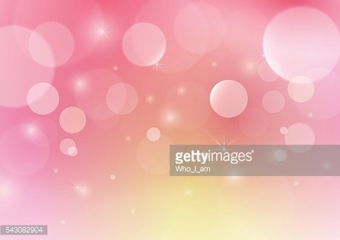 Pink abstract bokeh background. circle concept