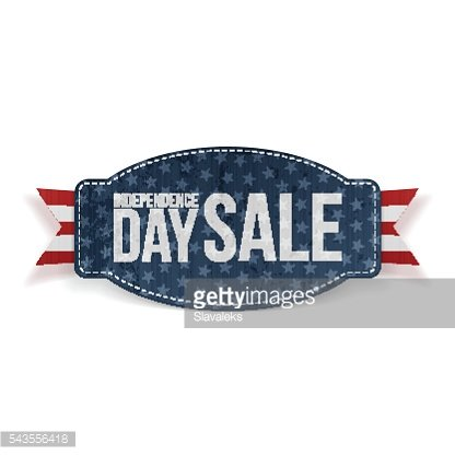 Independence Day Sale greeting Banner