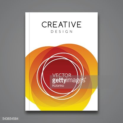 Vector Poster Flyer Template. Abstract colorful Background for Business Flyers