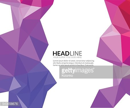 Abstract vector faceted polygonal triangle modern background