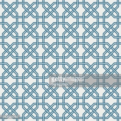 Traditional Islam Geometric pattern, seamless
