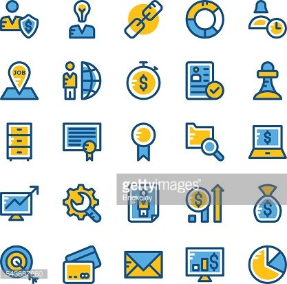 Human Resources Vector Icons 3