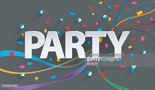Party paper background
