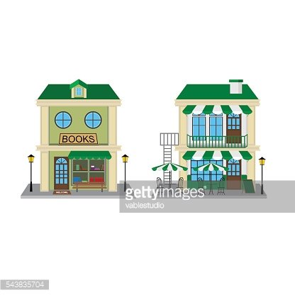 Book Store and Cafe