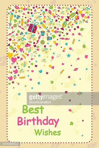 Greetings for Happy Birthday