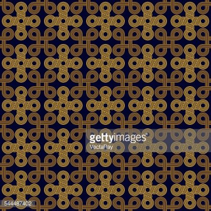 Seamless Art Deco rope cord knot background texture pattern