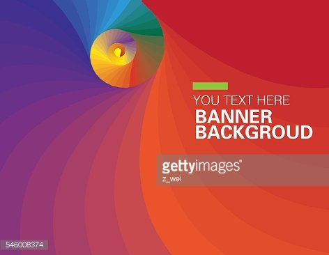 The vector gradient background