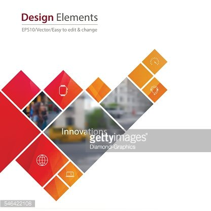 Vector Design Element for graphic layout. Abstract background te