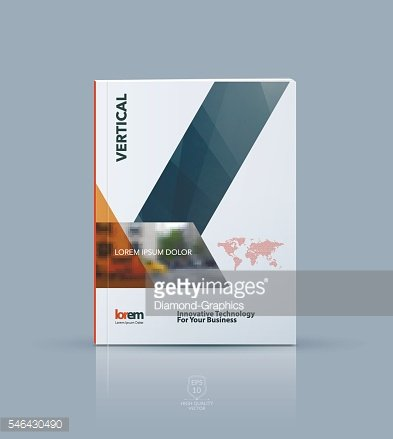 Vector design for cover annual report. Brochure or flyer templat