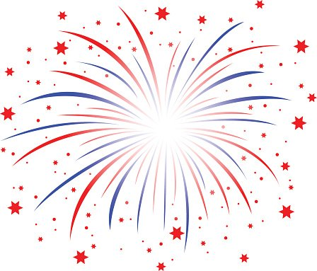Firework red white blue. And premium clipart clipartlogo