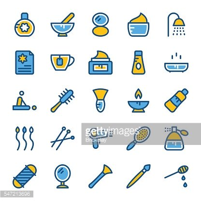 Beauty and SPA Vector Icons 2