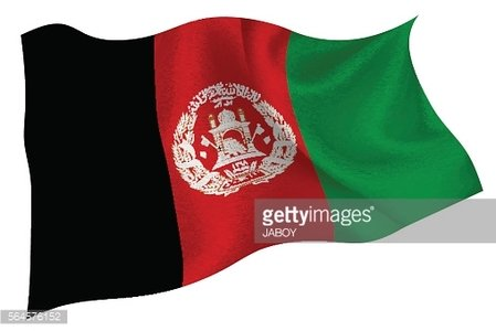 Afghanistan Flag State Icon