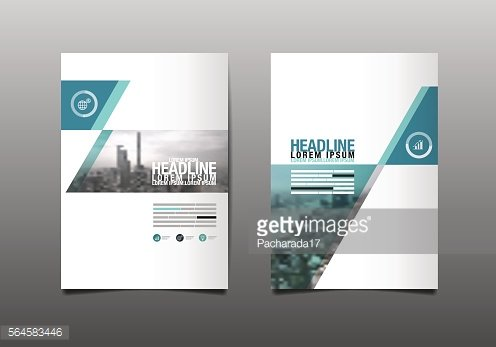 Layout Design Template, Cover Book