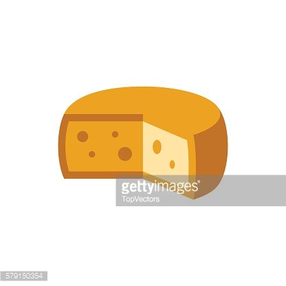 Holandaise Cheese Simplified Icon