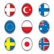 World flags collection D 3/4