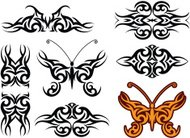 Tattoo Arm Band, Butterfly