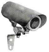 watercolor sketch of Surveillance Camera on white background