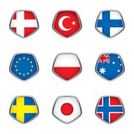World flags collection F 3/4