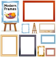 Picture Frames (Modern)